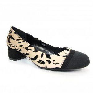 ayda block heel court